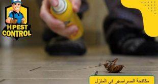 مكافحة الصراصير في المنزل
